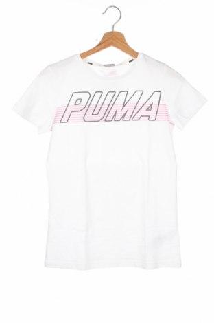 Παιδικό μπλουζάκι PUMA, Μέγεθος 12-13y/ 158-164 εκ., Χρώμα Λευκό, Βαμβάκι, Τιμή 15,08€