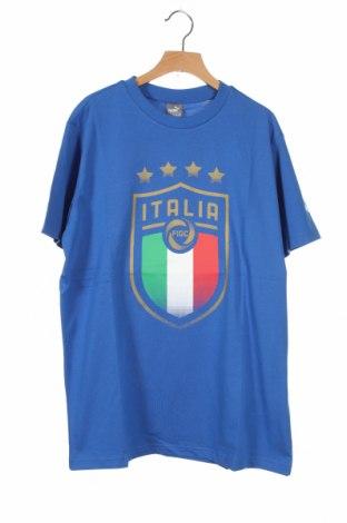 Παιδικό μπλουζάκι PUMA, Μέγεθος 15-18y/ 170-176 εκ., Χρώμα Μπλέ, Βαμβάκι, Τιμή 15,08€