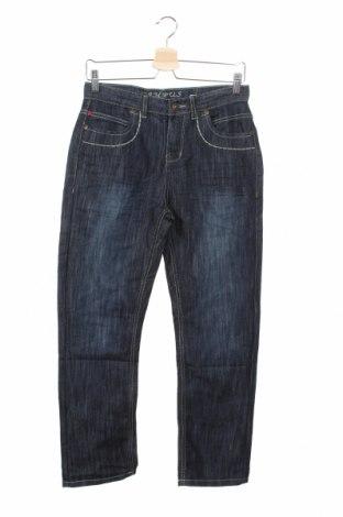 Dziecięce jeansy Campus, Rozmiar 10-11y/ 146-152 cm, Kolor Niebieski, 70% bawełna, 30% poliester, Cena 59,40zł