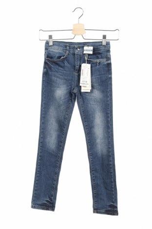 Παιδικά τζίν Tom Tailor, Μέγεθος 7-8y/ 128-134 εκ., Χρώμα Μπλέ, 97% βαμβάκι, 3% ελαστάνη, Τιμή 18,95€