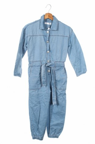 Dziecięcy kombinezon Zara, Rozmiar 12-13y/ 158-164 cm, Kolor Niebieski, 100% bawełna, Cena 101,25zł