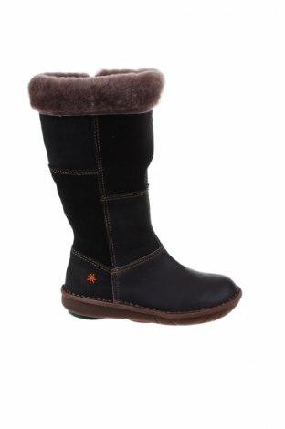 Детски обувки Art Shoes, Размер 29, Цвят Черен, Естествена кожа, естествен велур, Цена 87,45лв.