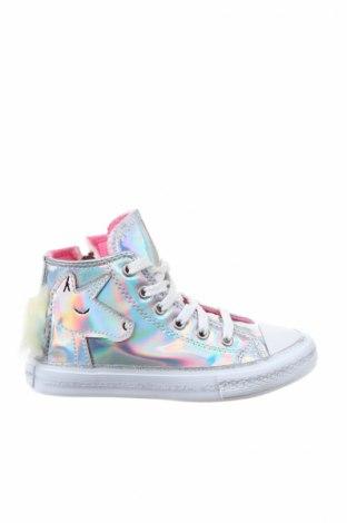 Παιδικά παπούτσια Deno, Μέγεθος 31, Χρώμα Ασημί, Δερματίνη, Τιμή 18,95€