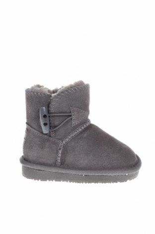 Детски обувки Gooce, Размер 20, Цвят Сив, Естествен велур, Цена 41,70лв.