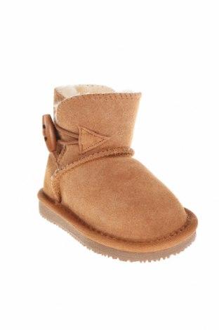 Παιδικά παπούτσια Gooce, Μέγεθος 19, Χρώμα  Μπέζ, Φυσικό σουέτ, Τιμή 16,48€