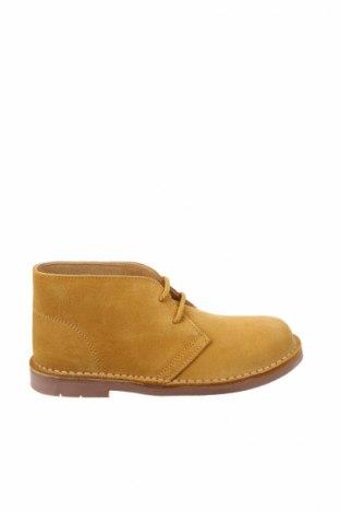 Παιδικά παπούτσια Lola Palacios, Μέγεθος 32, Χρώμα Κίτρινο, Φυσικό σουέτ, Τιμή 26,68€