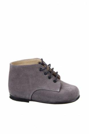 Παιδικά παπούτσια Lola Palacios, Μέγεθος 22, Χρώμα Γκρί, Φυσικό σουέτ, Τιμή 30,54€