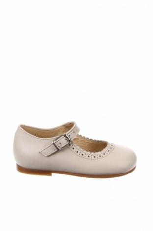 Παιδικά παπούτσια Lola Palacios, Μέγεθος 22, Χρώμα  Μπέζ, Γνήσιο δέρμα, Τιμή 26,68€
