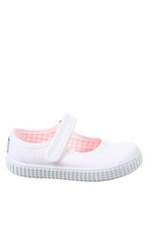 Παιδικά παπούτσια Lola Palacios, Μέγεθος 24, Χρώμα Λευκό, Κλωστοϋφαντουργικά προϊόντα, Τιμή 18,95€