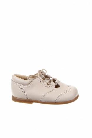 Παιδικά παπούτσια Lola Palacios, Μέγεθος 21, Χρώμα  Μπέζ, Γνήσιο δέρμα, Τιμή 26,68€