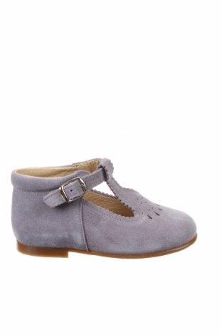 Παιδικά παπούτσια Lola Palacios, Μέγεθος 25, Χρώμα Γκρί, Φυσικό σουέτ, Τιμή 26,68€