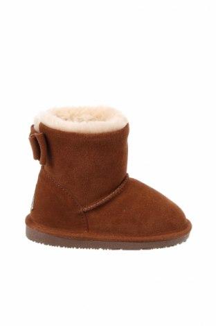 Παιδικά παπούτσια Gooce, Μέγεθος 28, Χρώμα Καφέ, Φυσικό σουέτ, Τιμή 21,50€