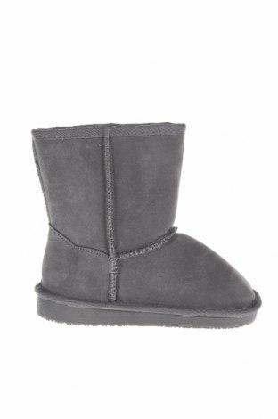 Παιδικά παπούτσια Nice Bay, Μέγεθος 30, Χρώμα Γκρί, Φυσικό σουέτ, Τιμή 29,18€