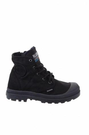 Παιδικά παπούτσια Palladium, Μέγεθος 30, Χρώμα Μαύρο, Κλωστοϋφαντουργικά προϊόντα, Τιμή 39,33€