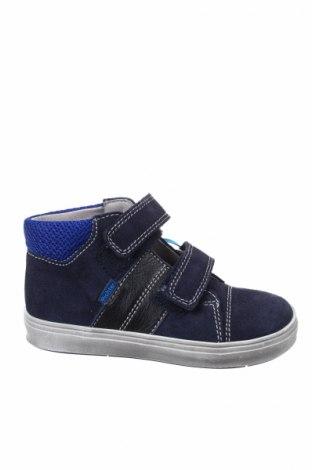 Παιδικά παπούτσια Richter, Μέγεθος 24, Χρώμα Μπλέ, Φυσικό σουέτ, Τιμή 26,68€