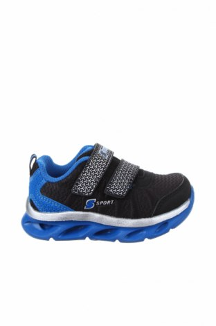 Παιδικά παπούτσια Skechers, Μέγεθος 22, Χρώμα Μαύρο, Κλωστοϋφαντουργικά προϊόντα, Τιμή 20,10€
