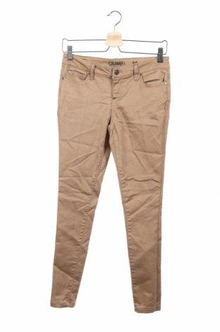 Dziecięce spodnie Celebrity, Rozmiar 14-15y/ 168-170 cm, Kolor Brązowy, 68% bawełna, 30% poliester, 2% elastyna, Cena 59,40zł