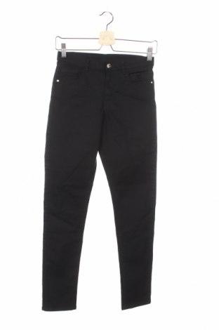 Dziecięce spodnie H&M, Rozmiar 12-13y/ 158-164 cm, Kolor Czarny, 59% bawełna, 39% poliester, 2% elastyna, Cena 56,10zł