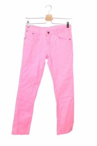 Детски панталон Y.F.K., Размер 14-15y/ 168-170 см, Цвят Розов, 98% памук, 2% еластан, Цена 4,83лв.
