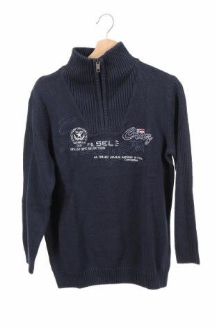 Detský sveter  Bpc Bonprix Collection, Veľkosť 14-15y/ 168-170 cm, Farba Modrá, 100% bavlna, Cena  22,68€