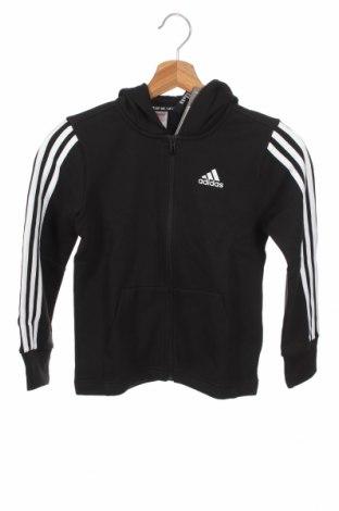 Dziecięca bluza Adidas, Rozmiar 6-7y/ 122-128 cm, Kolor Czarny, 65% poliester, 35% bawełna, Cena 148,13zł