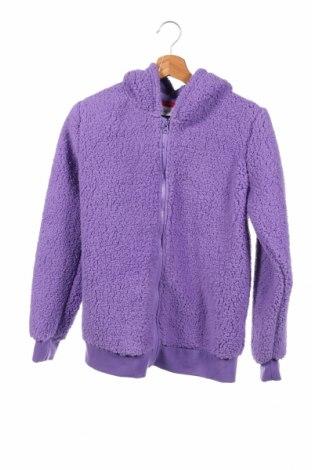 Dziecięca bluza Bpc Bonprix Collection, Rozmiar 13-14y/ 164-168 cm, Kolor Fioletowy, 58% poliester, 32% bawełna, 10% elastyna, Cena 63,75zł