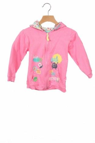 Dziecięca bluza Gelati, Rozmiar 18-24m/ 86-98 cm, Kolor Różowy, 95% bawełna, 5% elastyna, Cena 67,50zł