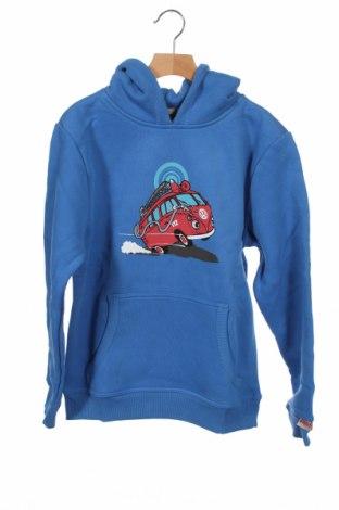 Dziecięca bluza Van one, Rozmiar 12-13y/ 158-164 cm, Kolor Niebieski, 80% bawełna, 15% poliester, 5% elastyna, Cena 110,63zł