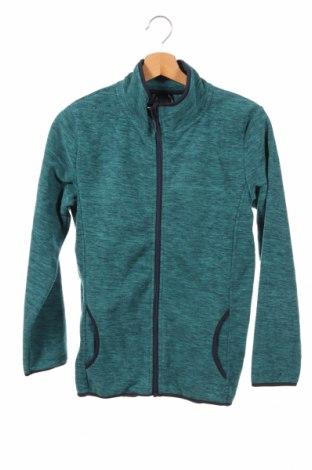 Dziecięca bluza z polaru Bpc Bonprix Collection, Rozmiar 11-12y/ 152-158 cm, Kolor Zielony, Poliester, Cena 78,75zł