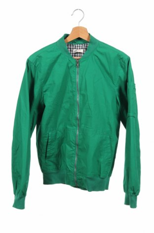 Dziecięca kurtka H&M, Rozmiar 14-15y/ 168-170 cm, Kolor Zielony, Bawełna, Cena 110,70zł