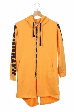 Dziecięca bluza Happy, Rozmiar 13-14y/ 164-168 cm, Kolor Żółty, 95% bawełna, 5% elastyna, Cena 102,60zł