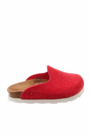 Kapcie Sommers, Rozmiar 25, Kolor Czerwony, Materiał tekstylny, Cena 54,38zł