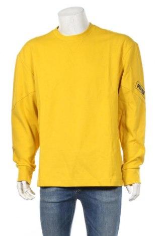 Ανδρική μπλούζα PUMA, Μέγεθος L, Χρώμα Κίτρινο, 72% βαμβάκι, 28% πολυεστέρας, Τιμή 30,54€