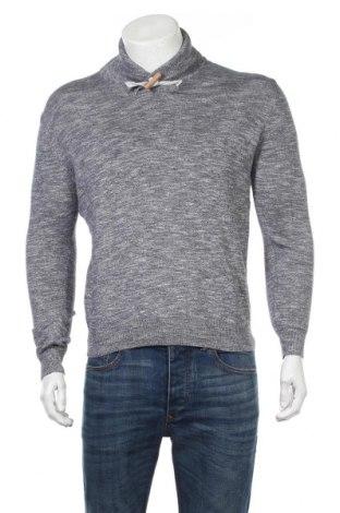 Ανδρικό πουλόβερ Springfield, Μέγεθος M, Χρώμα Μπλέ, Βαμβάκι, Τιμή 12,34€