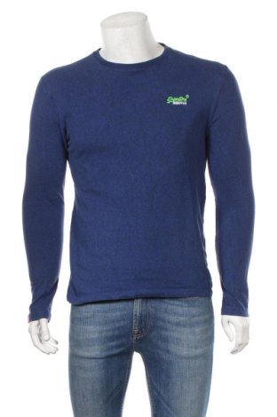 Ανδρική μπλούζα Superdry, Μέγεθος M, Χρώμα Μπλέ, Τιμή 24,68€