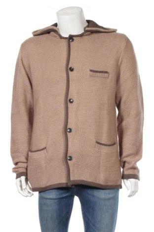 Мъжка жилетка Bpc Bonprix Collection, Размер XL, Цвят Кафяв, 50% памук, 50% акрил, Цена 36,00лв.