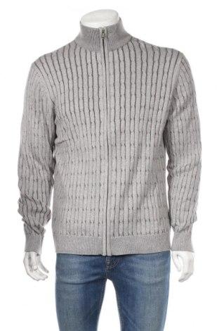 Мъжка жилетка Bpc Bonprix Collection, Размер XXL, Цвят Сив, 95% памук, 5% кашмир, Цена 36,00лв.