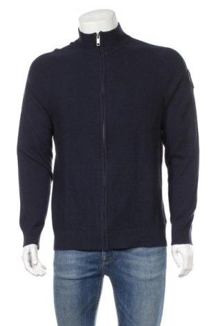 Мъжка жилетка John Baner, Размер S, Цвят Син, 70% памук, 30% полиестер, Цена 36,00лв.