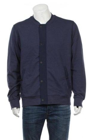 Мъжка жилетка S.Oliver, Размер L, Цвят Син, 78% памук, 17% полиестер, 5% еластан, Цена 48,00лв.