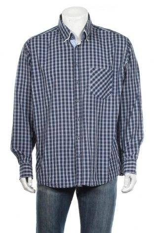 Мъжка риза Atelier GARDEUR, Размер XL, Цвят Син, 100% памук, Цена 18,43лв.