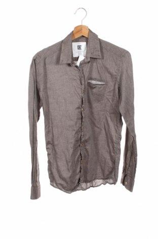 Męska koszula CR7, Rozmiar S, Kolor Brązowy, Bawełna, Cena 102,00zł