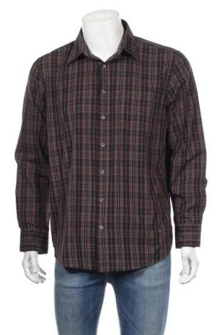 Ανδρικό πουκάμισο Canda, Μέγεθος L, Χρώμα Πολύχρωμο, 58% βαμβάκι, 42% πολυεστέρας, Τιμή 11,69€