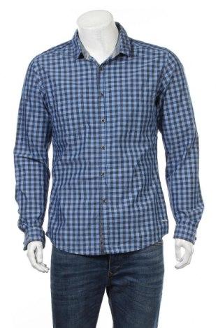 Męska koszula Edc By Esprit, Rozmiar L, Kolor Niebieski, 100% bawełna, Cena 48,45zł