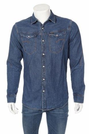 Ανδρικό πουκάμισο G-Star Raw, Μέγεθος L, Χρώμα Μπλέ, Βαμβάκι, Τιμή 29,88€