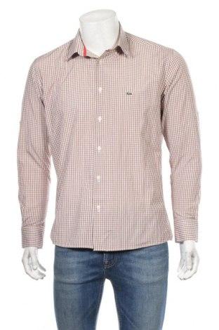 Ανδρικό πουκάμισο Lacoste, Μέγεθος XL, Χρώμα Πολύχρωμο, Βαμβάκι, Τιμή 29,88€