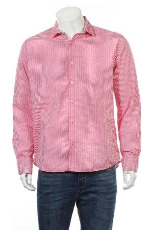 Męska koszula Lucky de Luca, Rozmiar L, Kolor Różowy, 100% bawełna, Cena 79,80zł