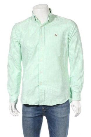 Ανδρικό πουκάμισο Polo By Ralph Lauren, Μέγεθος M, Χρώμα Πράσινο, Βαμβάκι, Τιμή 18,19€