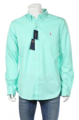 Ανδρικό πουκάμισο Ralph Lauren, Μέγεθος XL, Χρώμα Πράσινο, Βαμβάκι, Τιμή 39,33€