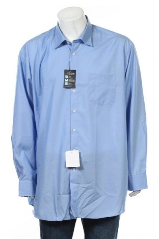 Męska koszula Seidensticker, Rozmiar 3XL, Kolor Niebieski, 100% bawełna, Cena 82,65zł