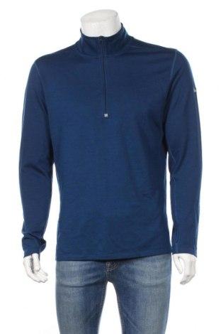 Ανδρική αθλητική μπλούζα Nike, Μέγεθος L, Χρώμα Μπλέ, 57% πολυεστέρας, 43% μαλλί, Τιμή 22,08€